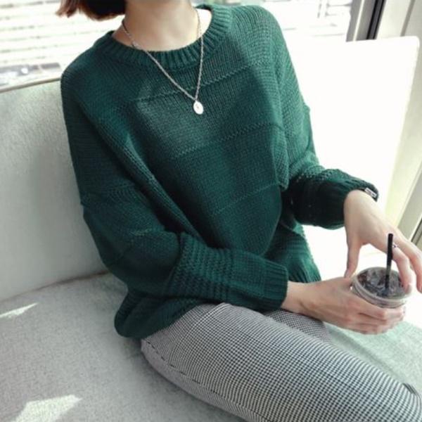 簡單舒適手感針織衫